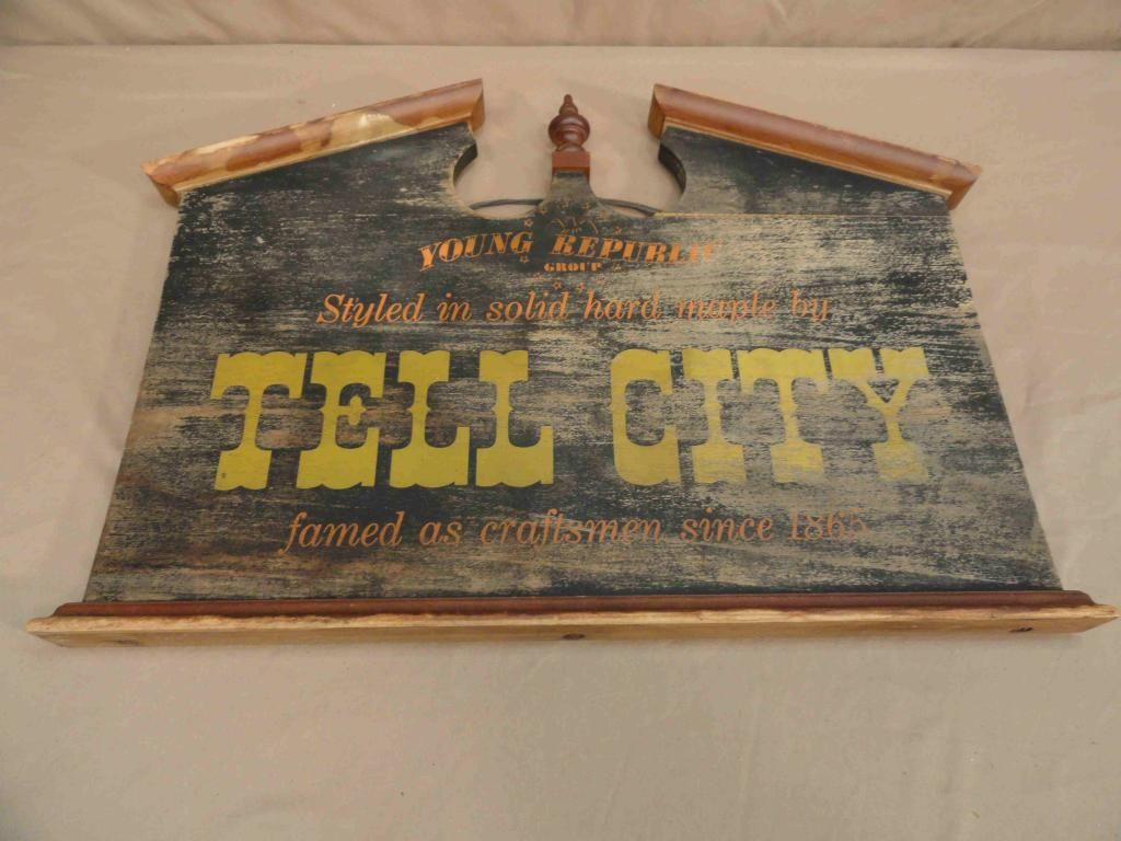 Tell City Chairs Pattern 4222 Full Massage Chair Maple Furniture Details About Vtg
