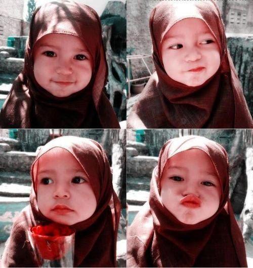 Simu0727 Hijab Style Bayi Lucu Anak Imut