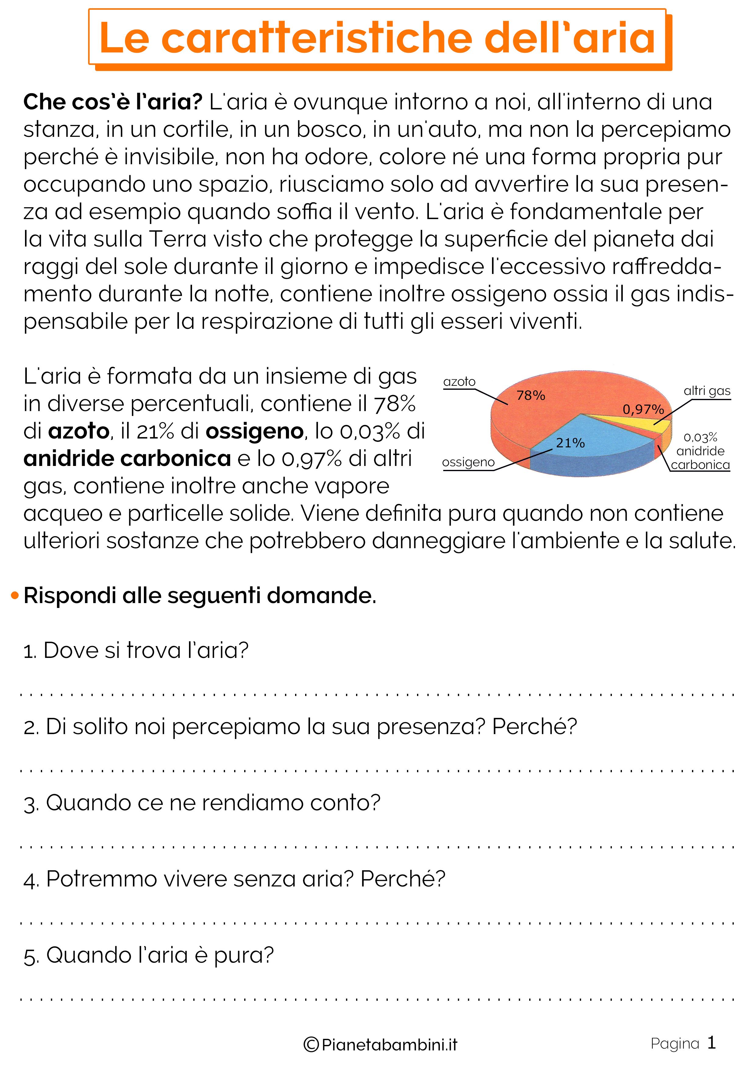 Laria Schede Didattiche Per La Scuola Primaria Scuola Science