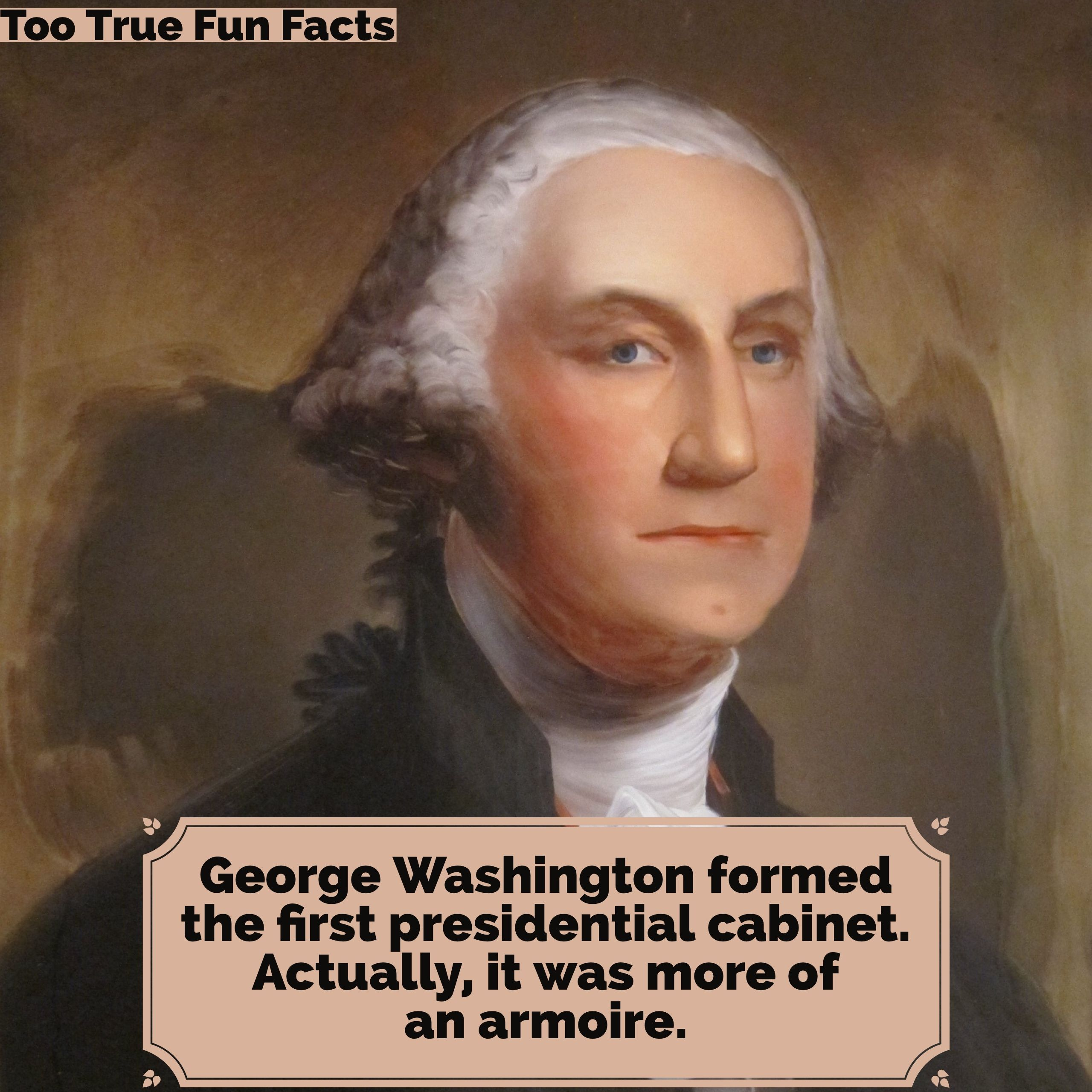 George Washington Was A Historic President Too True Fun