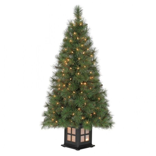 shop holiday living 4 ft pre lit scott pine artificial christmas inside lowes  christmas trees - 40 Awesome Lowes Christmas Trees Ideas Christmas Decor & Craft