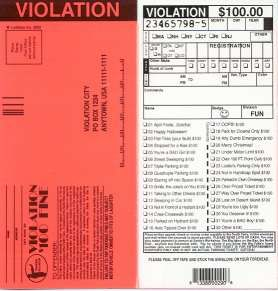 Parking Tickets | Things we dislike.... | Pinterest | Templates ...
