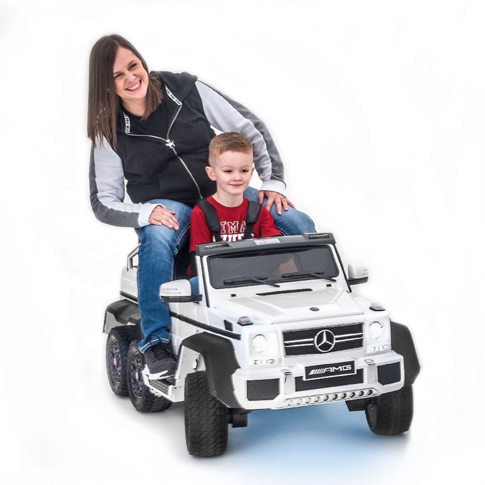 Licensed Mercedes Benz G63 6x6 Ride On Kids Electric 2 Seater Car It S Like Nothing We Ve Seen Before And We Re Bett One Seater Car Best Kids Toys Reverse Gear