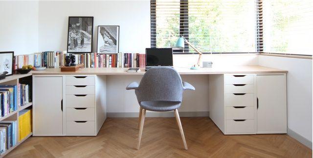 Corkellis House Home Office Design Ikea Vika Ikea Office
