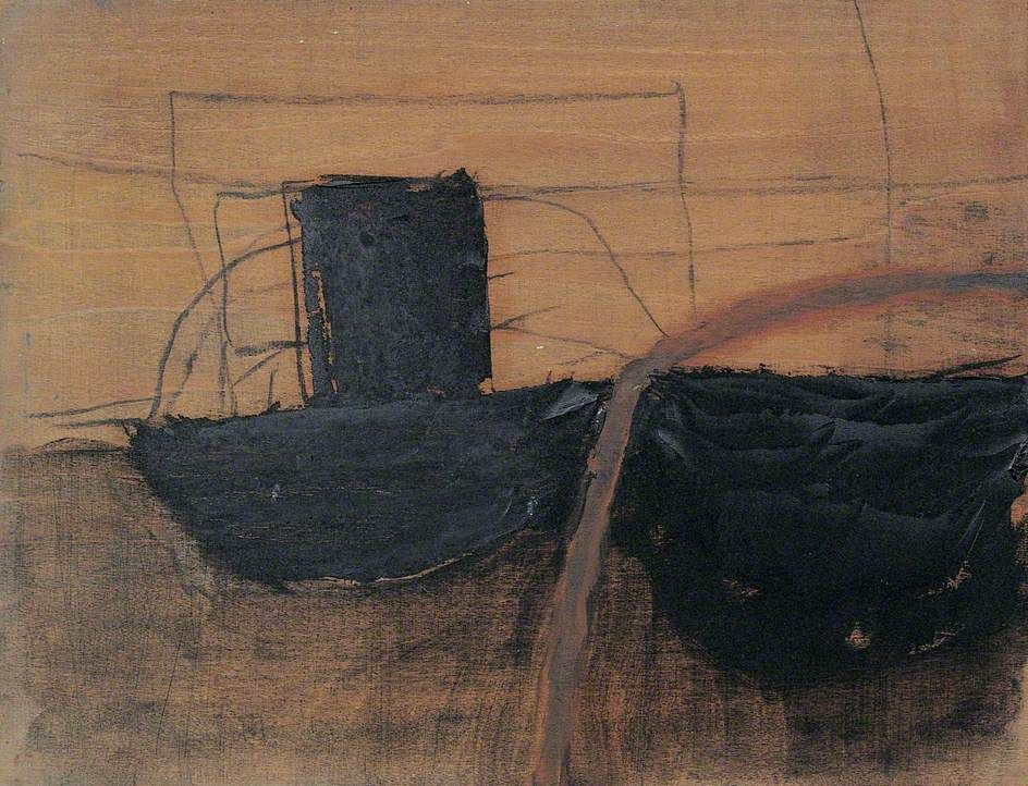 Black and brown by roger hilton brown art gallery of
