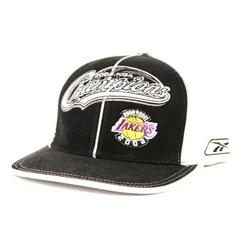 quality design 34b36 85705 Los Angeles Lakers 2002 NBA World Champions Locker Room Hat by Reebok  (Small-Medium