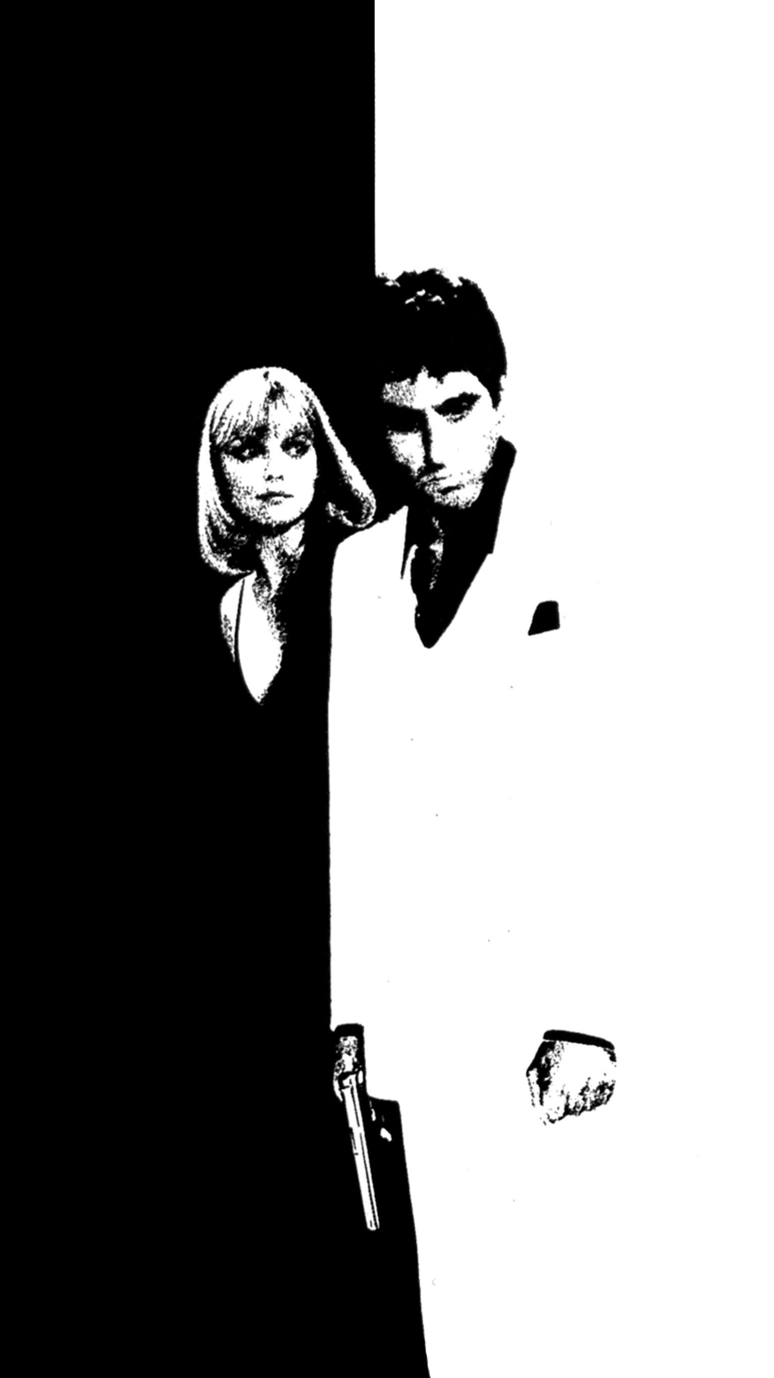 Scarface 1983 Phone Wallpaper Scarface Movie Scarface Poster Scarface