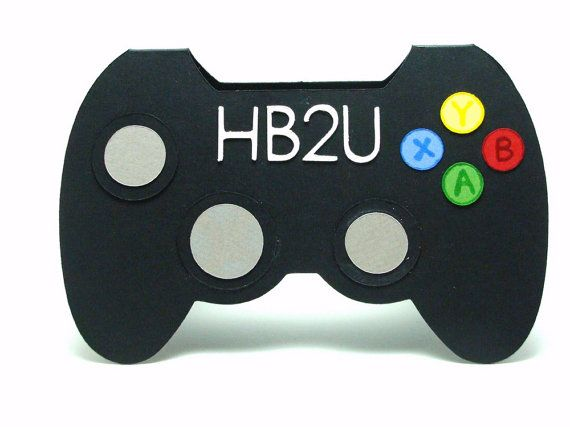 Video game controller hb2u birthday card by soprettybysmriti – Video Birthday Cards for Kids