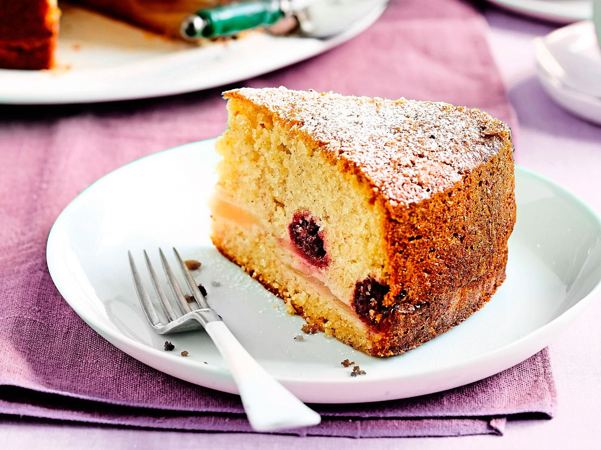 Blackberry and apple cake Recipe Cake recipes