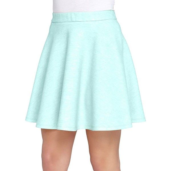 Catherine Catherine Malandrino Flared Skater Skirt ($38) ❤ liked on Polyvore featuring skirts, sky, blue circle skirt, blue skater skirt, flare skirt, flared hem skirt and knee length pleated skirt