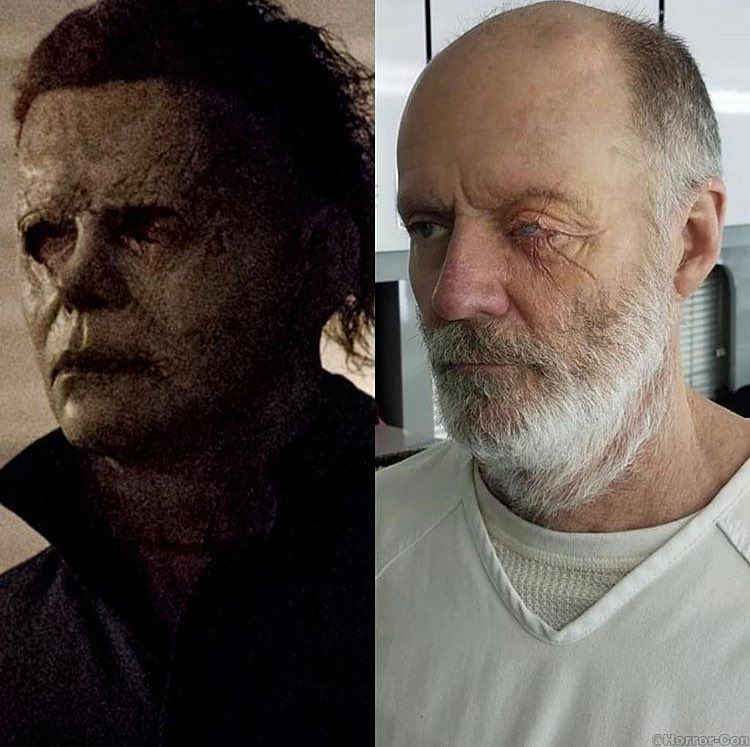 Michael Myers Unmasked!! @halloweenmovie • • • Make Sure To Follow M