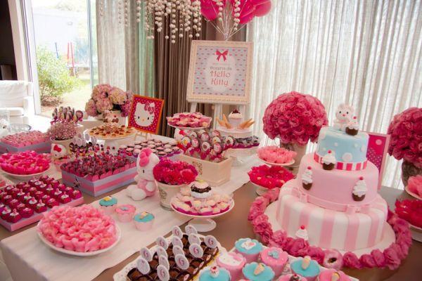 Festa da Hello Kitty simplesmente perfeita Kitty party