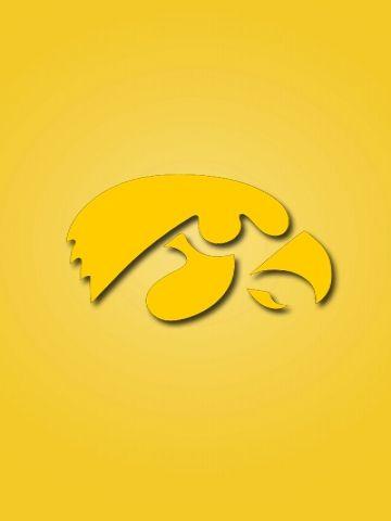 Iowa Hawkeyes Logo Wallpaper Iowa Hawkeyes Hawkeyes Iowa