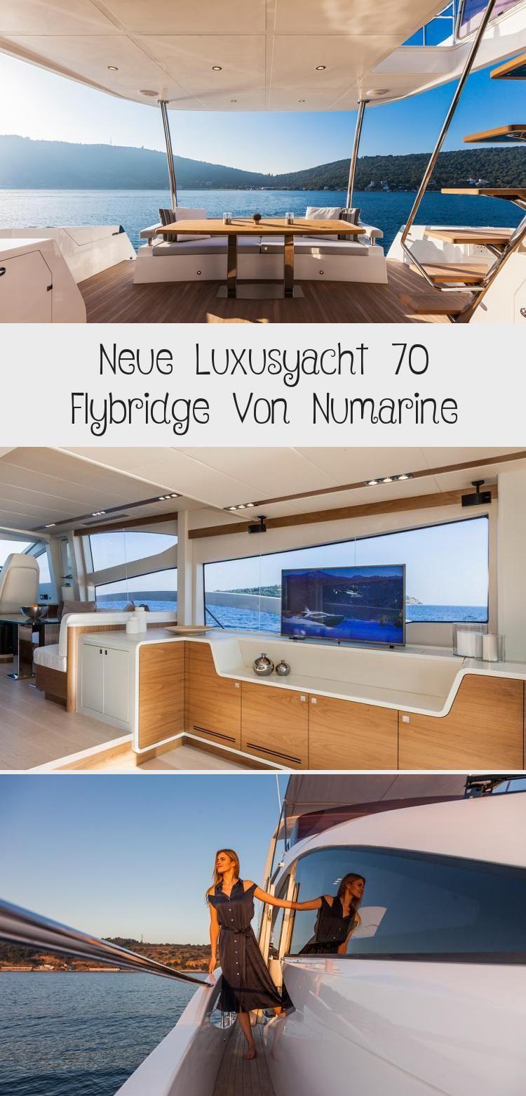 Photo of Neue Luxusyacht 70 Flybridge Von Numarine – Dekoration