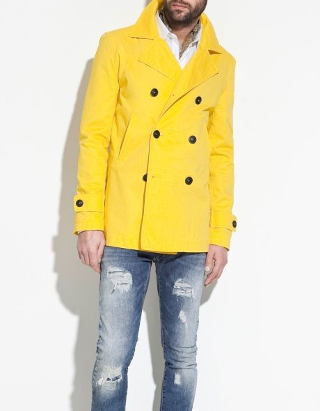 Love this coat. Stop fearing color, men. Still skittish? Do like ...