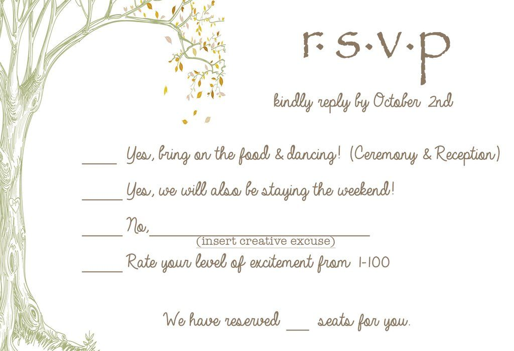cards wedding invitation rsvp wording