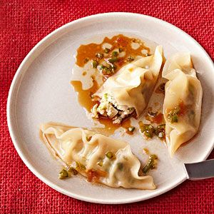 Instead of ordering Chinese takeout tonight, try making it yourself. These dumplings burst with flavor: cabbage, cilantro, sesame oil, soy sauce, green onion, and chile pepper. Bonus: They are better...see more