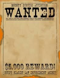 Wanted Poster Template Microsoft Word 8 10 Wanted Poster Template Wild West Crafts Wild West Theme Wild West