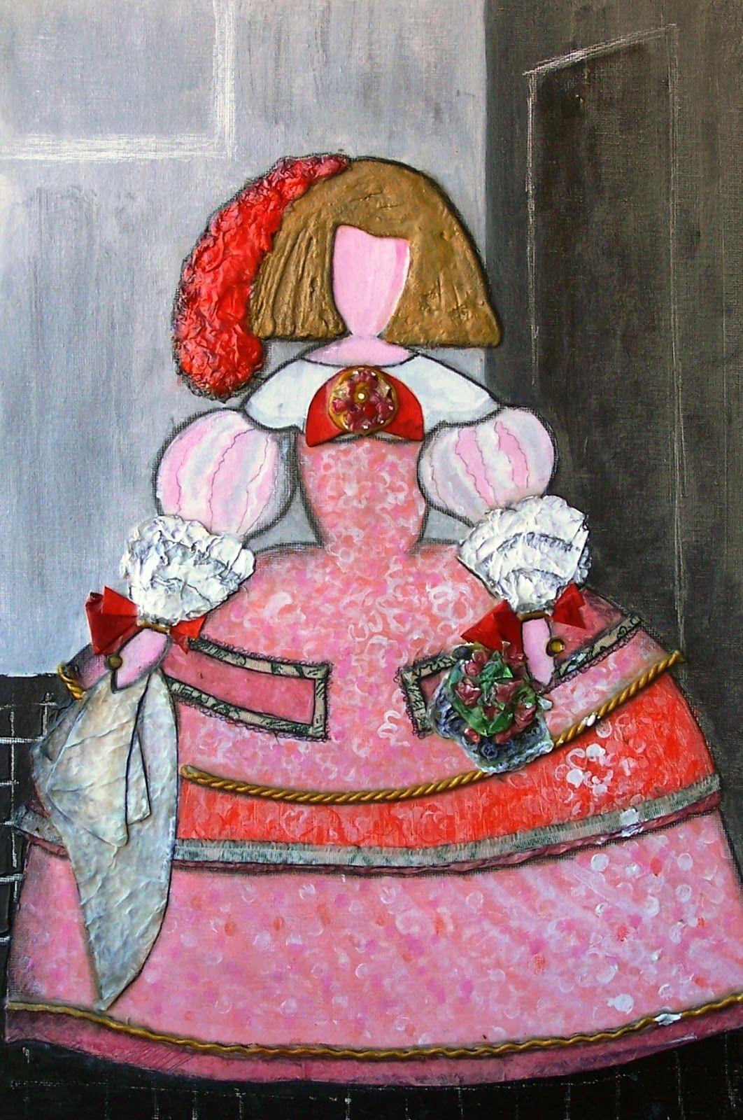 Im genes meninas 1 arte pinterest decoracion con for Cuadros meninas modernas