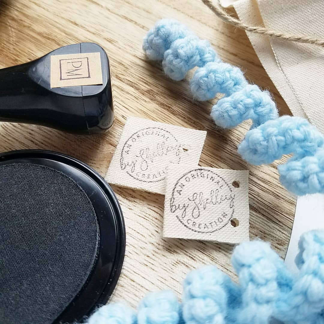 Custom Fabric Stamp of Your Logo or Image, Clothing Stamp