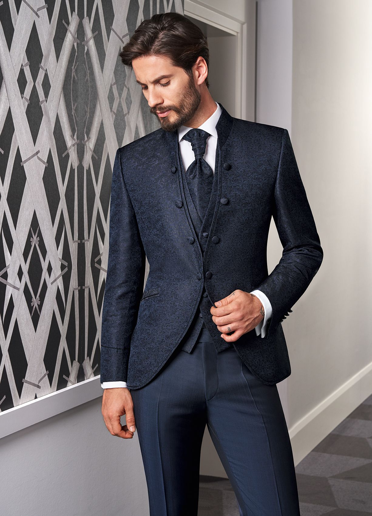 Hochzeitsanzug PRESTIGE 2020 Look 10 | Hochzeitsanzug, Anzug