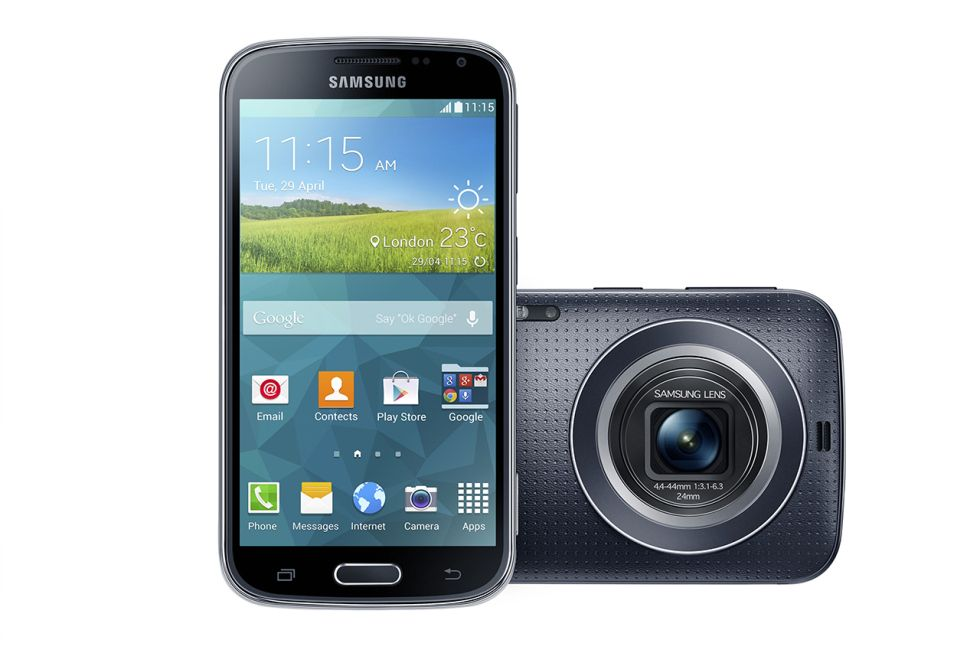 Samsung Galaxy K Zoom Samsung galaxy, Smartphone
