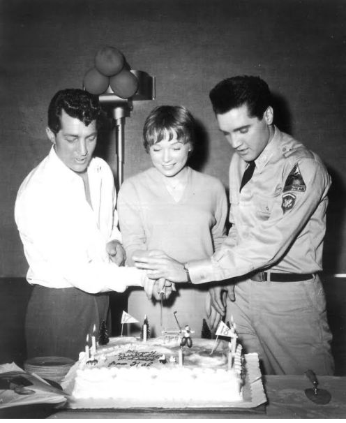 Dean Martin,Shirley Maclaine and Elvis Presley
