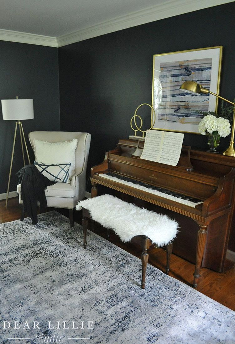 10+ Stunning Piano In Small Living Room