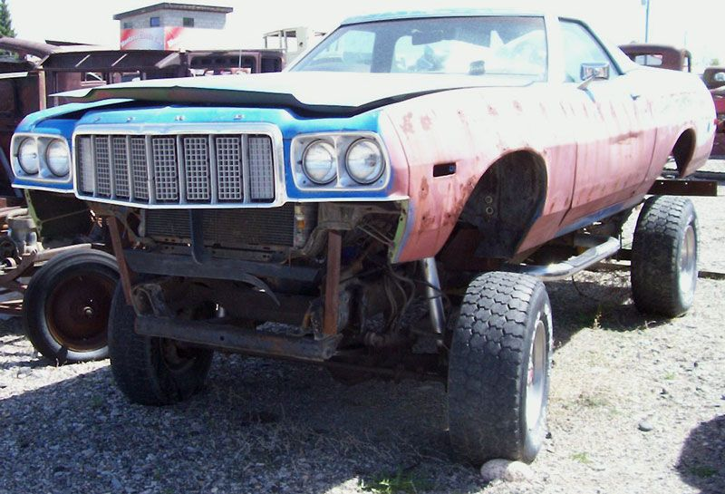 1974 Ford Ranchero  mudder monster