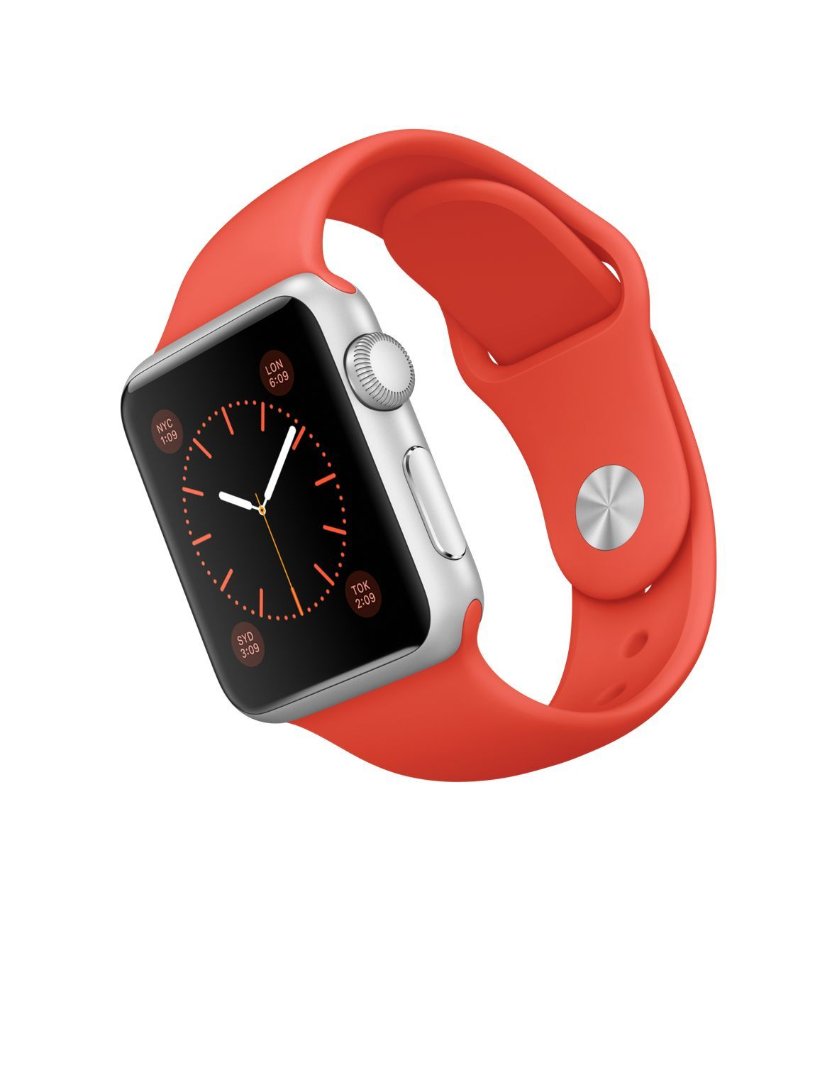 Apple Watch Band 42mm Orange Red