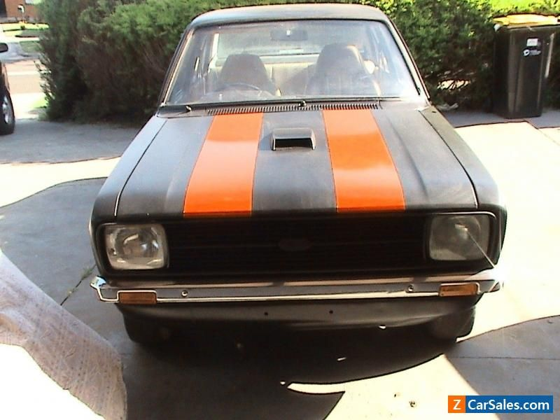 1980 Ford Escort MK2 Unfinished Project #ford #escort #forsale ...
