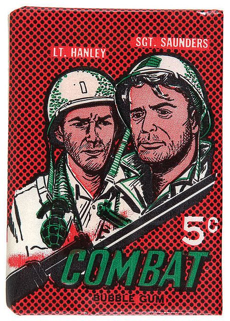Combat Non Sports Wrapper Cards, Cool cards, Retro toys