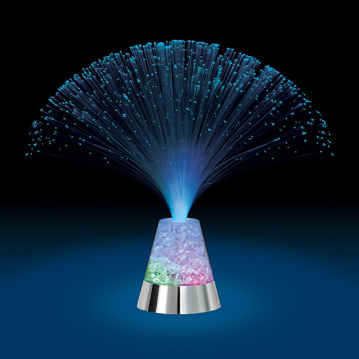 beautiful fiber optic centerpiece birthday plates kids party rh pinterest com