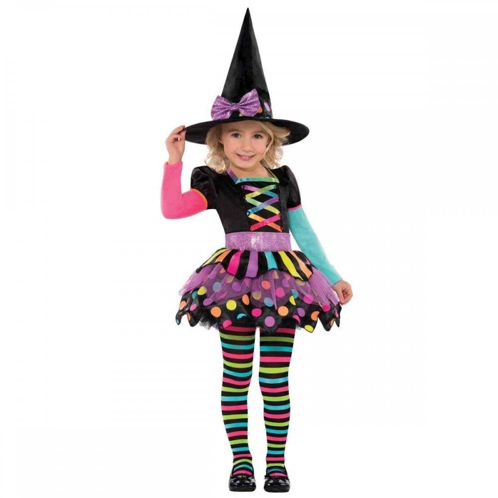 Disfraz Bruja de Halloween para niñas Brujita Christys