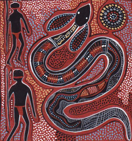 Rainbow Serpent Aboriginal Art Aboriginal Art Animals