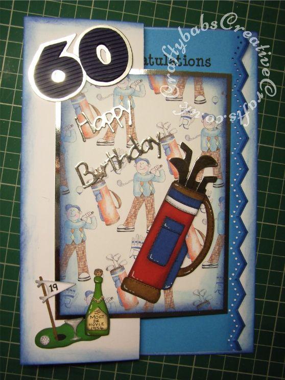 Male 60th Birthday Golf