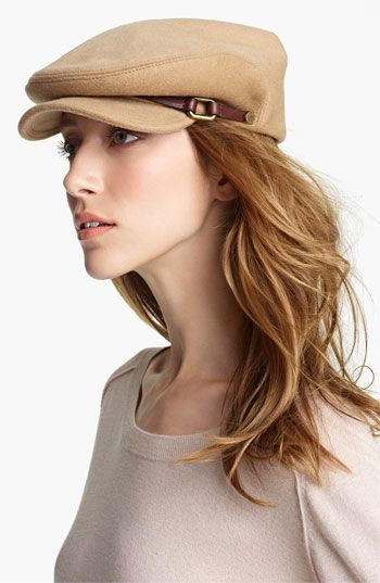 Burberry Wool   Cashmere Flat Cap available at  Nordstrom  bdccb453a23