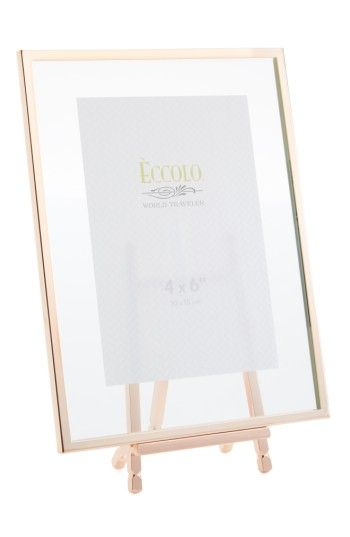 Copper Easel Picture Frame   Display