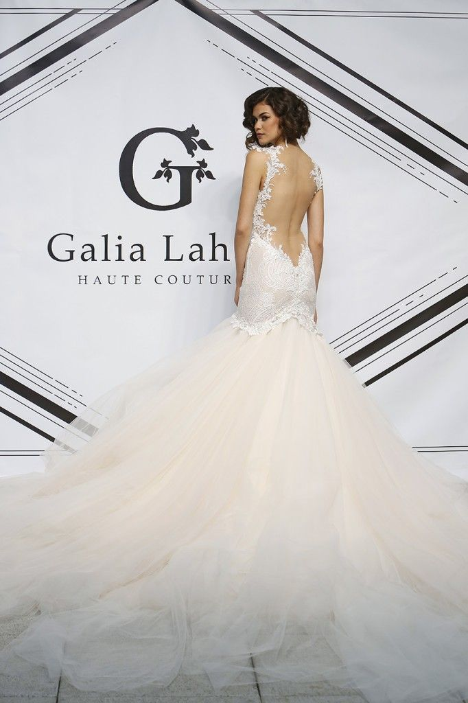 How did you ever imagine your wedding dress? Loretta, is a straight ...