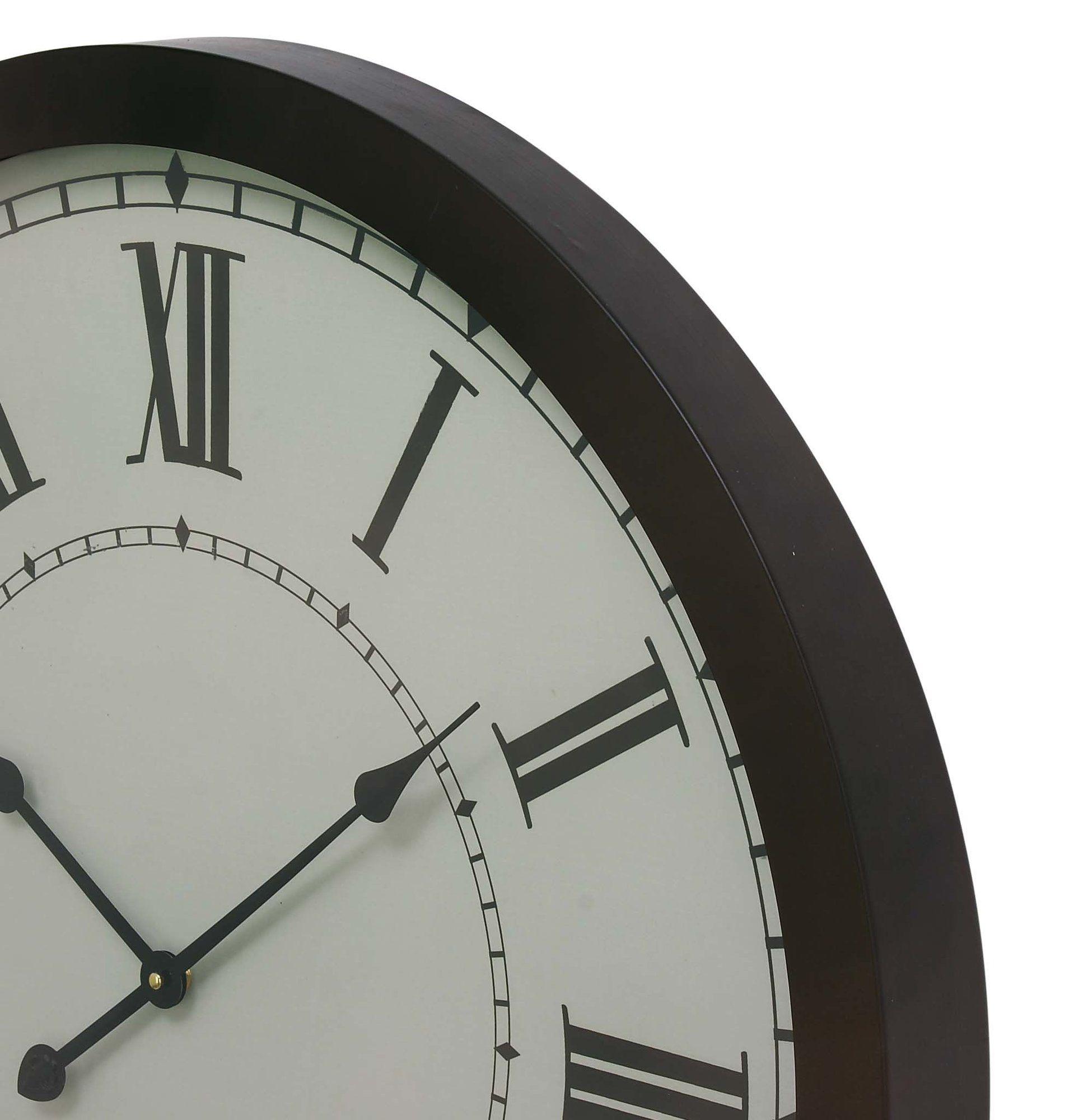 20 Wall Clock Metal Wall Clock Grey Wall Clocks Wall Clock