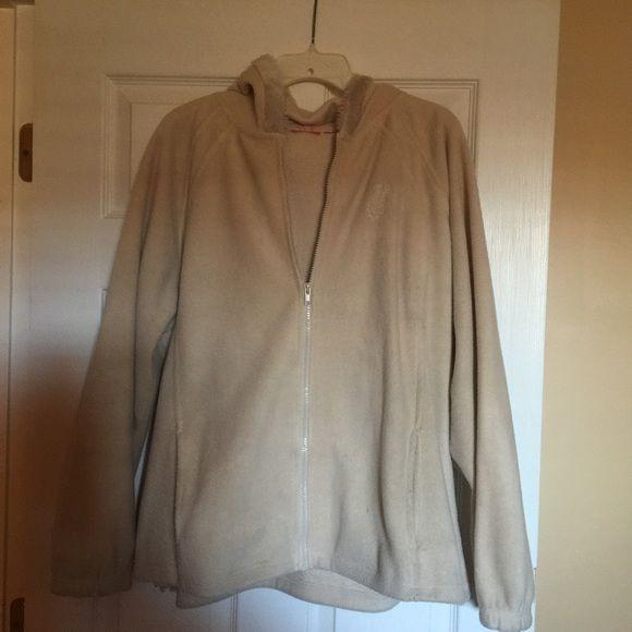 Light weight fleece hoodie Beige soft fleece hoodie in good condition Tops Sweatshirts & Hoodies