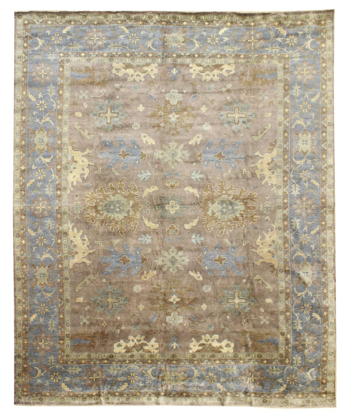 Best Value Traditional Rugs Gallery Oushak Design Rug Hand Knotted In India