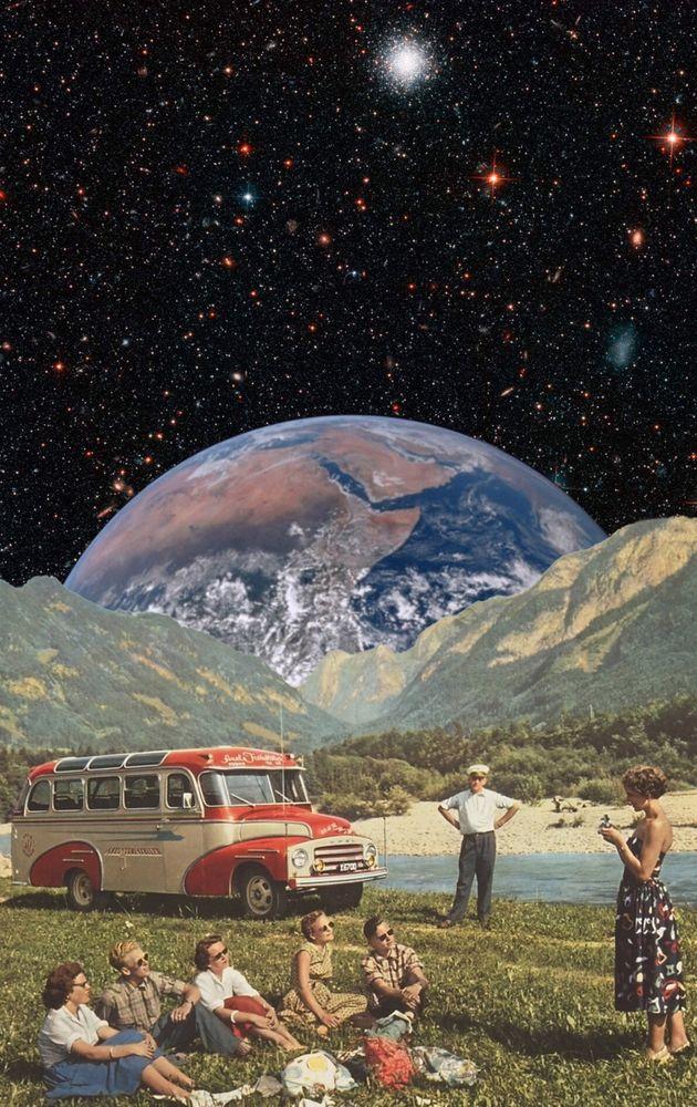 A Ray of Earthshine Art Print
