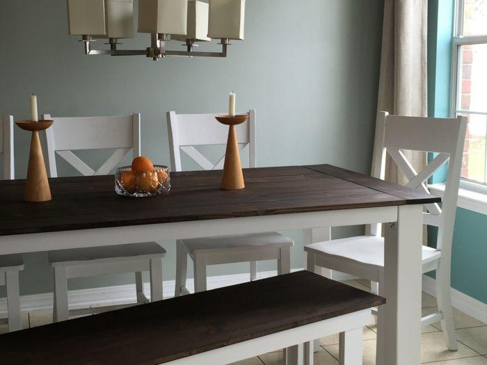 farben Oyster Bay im esszimmer Wandgestaltung - Tapeten - fototapeten für die küche