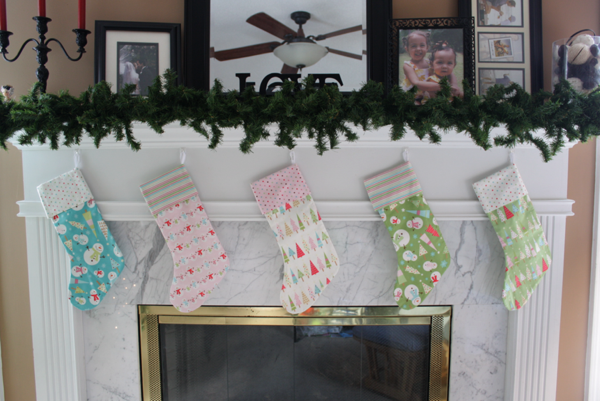Christmas Stockings Tutorial | Sewing | Pinterest