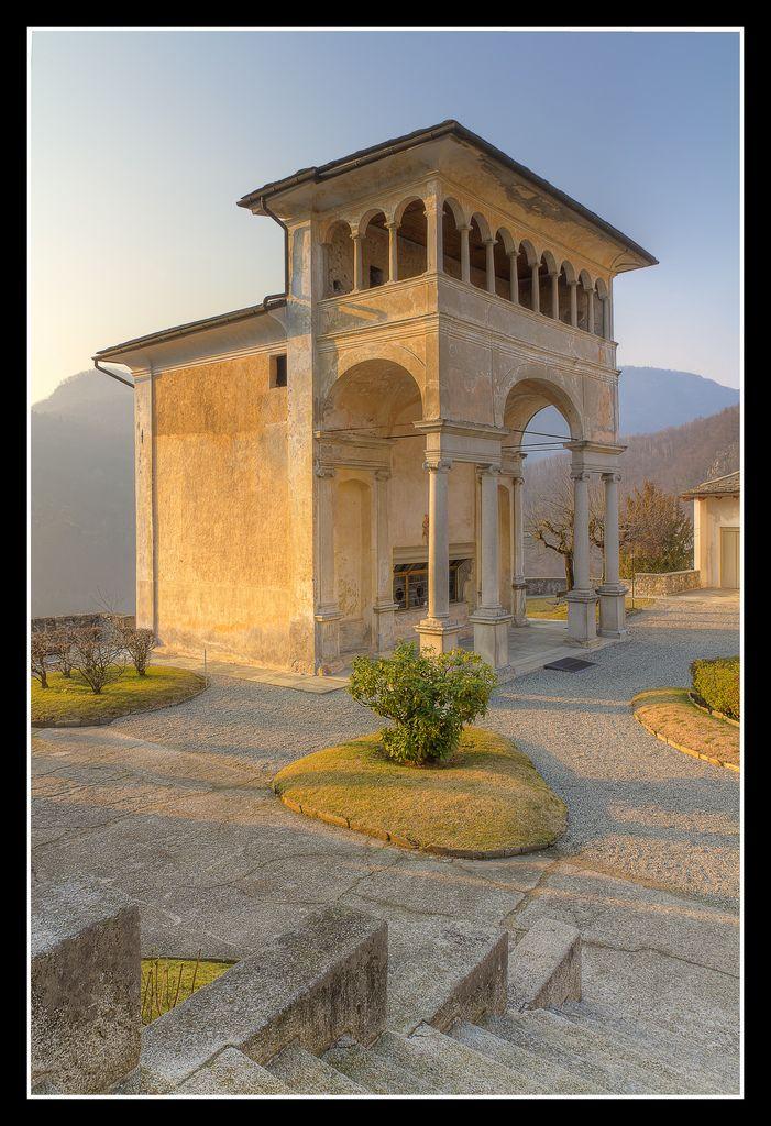 "Sacro Monte di Varallo ~ Varallo, Vercelli Piedmont, Italy ~ Miks' Pics ""Vintage Architecture"" board @ http://www.pinterest.com/msmgish/vintage-architecture/"