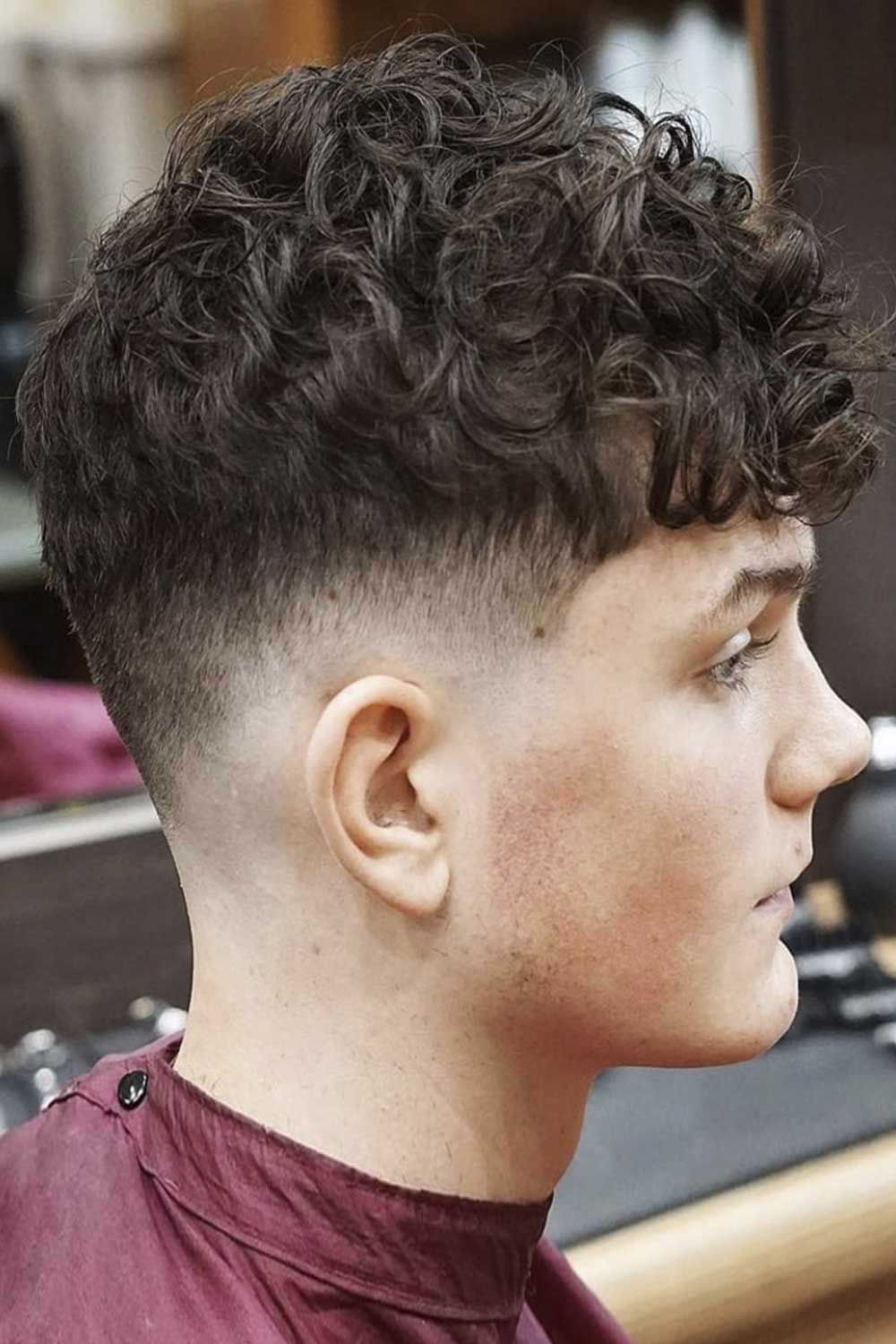 Pin On Men S Thick Curly Hair