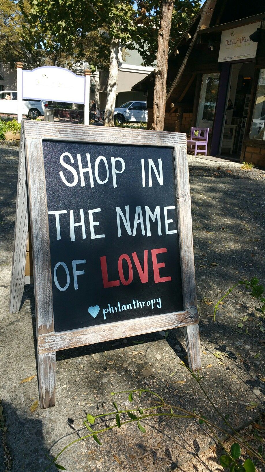 Retail Chalkboard Sign Ideas