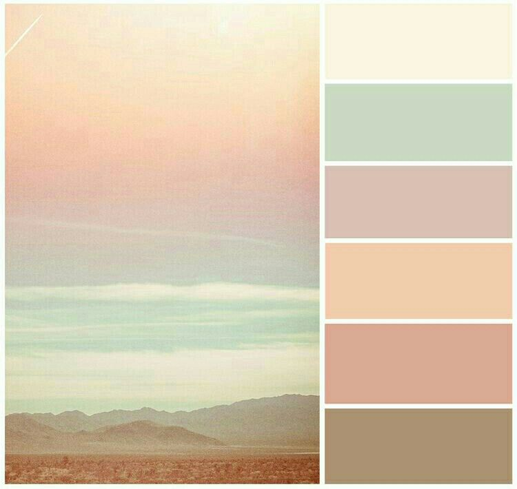 Saturday Hazy Summer With Images Sunset Color Palette Desert