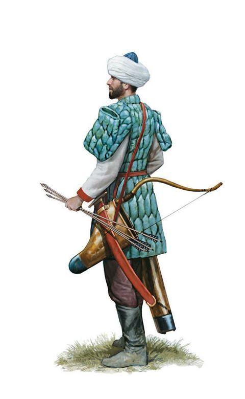 Римский конный лучник, 11 век н.э | Byzantine army ...